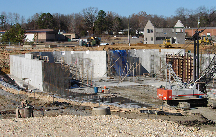 Benton Wastewater Treatment Plant Under Construction