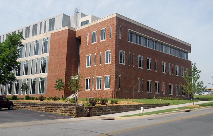 University of Arkansas Nanoscale Material Science & Engineering Building